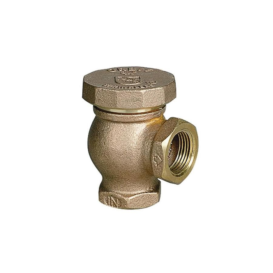Orbit 3/4-in Brass Atmospheric Vacuum Breaker Backflow Prevention Valve