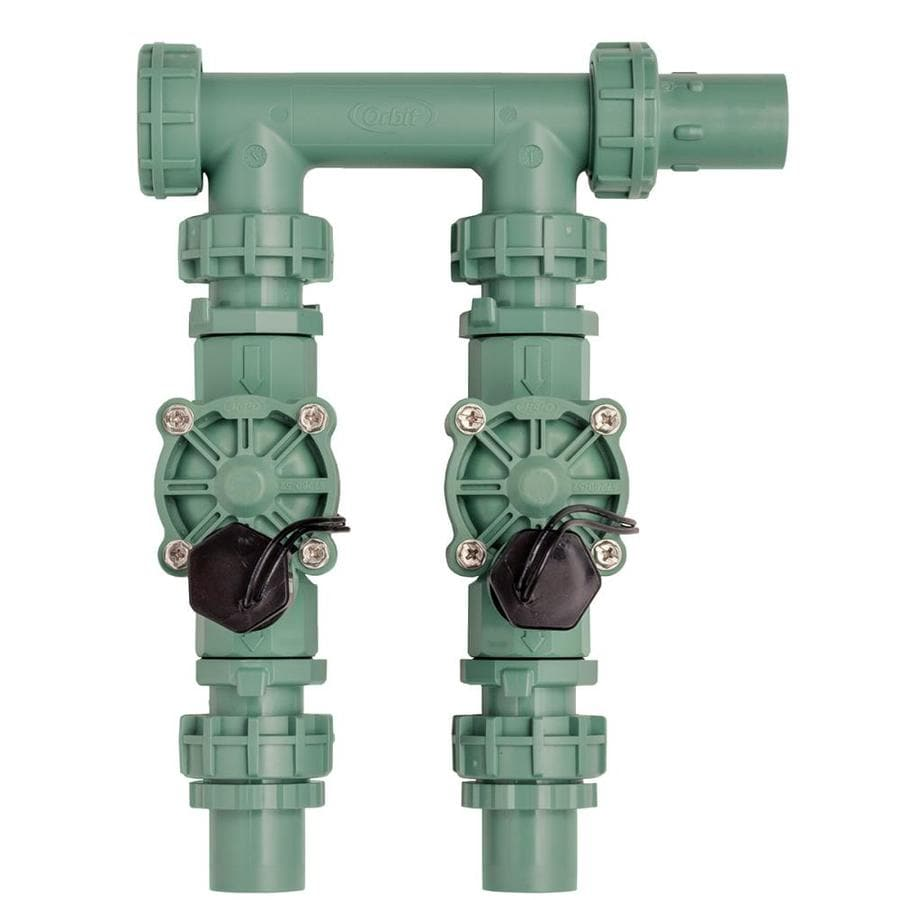 Orbit 3/4-in or 1-in Inline Preassembled Sprinkler Manifold