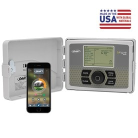 Orbit B-Hyve Smart Watering 6-Station Built-in Wifi Indoor/Outdoor  sc 1 st  Loweu0027s & Shop Irrigation Timers u0026 Accessories at Lowes.com