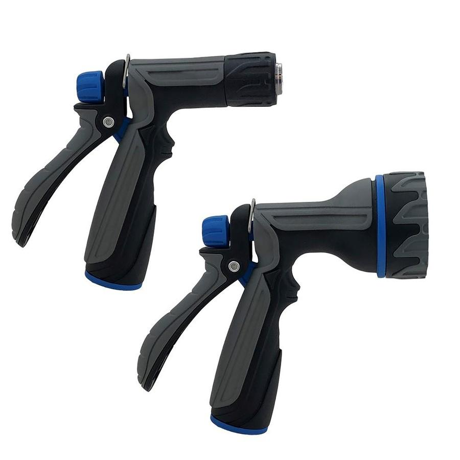 Orbit 7-Pattern Water Hose Nozzle with Insulated Hand Grip