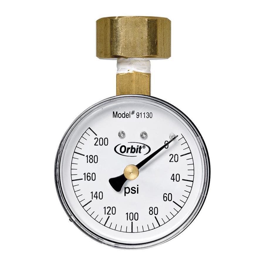 WaterMaster 200-lb. Pressure Gauge