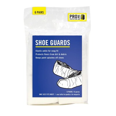 12 Pack Xl 2xl Polypropylene Paint Protective Shoe Covers