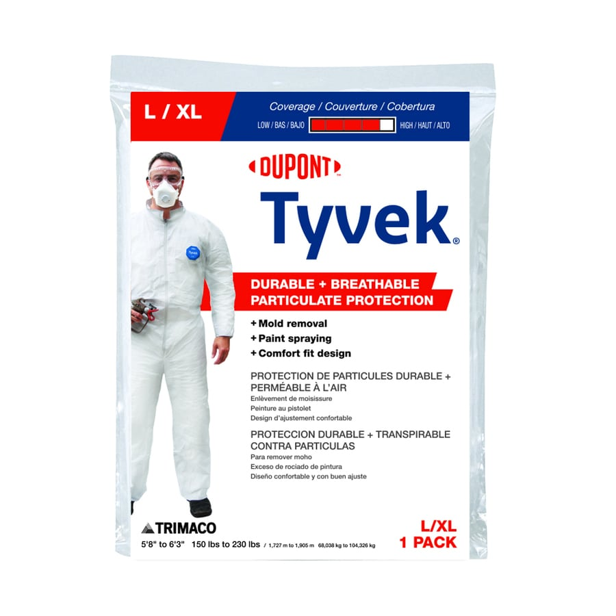 Trimaco X-Large Non-Woven Laminate Paint Protective Coveralls