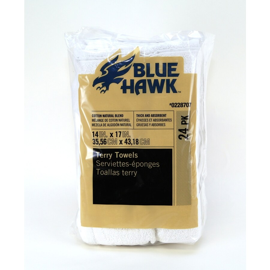 Blue Hawk Poly Cotton Towel