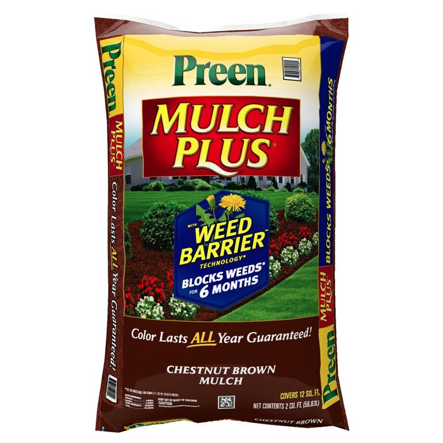 Preen Mulch Plus 2-cu ft Mulch