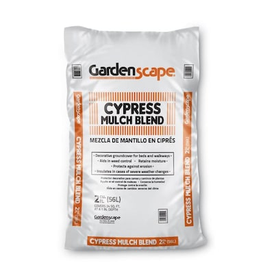 Gardenscape 2 Cu Ft Brown Blend Cypress Mulch At Lowes
