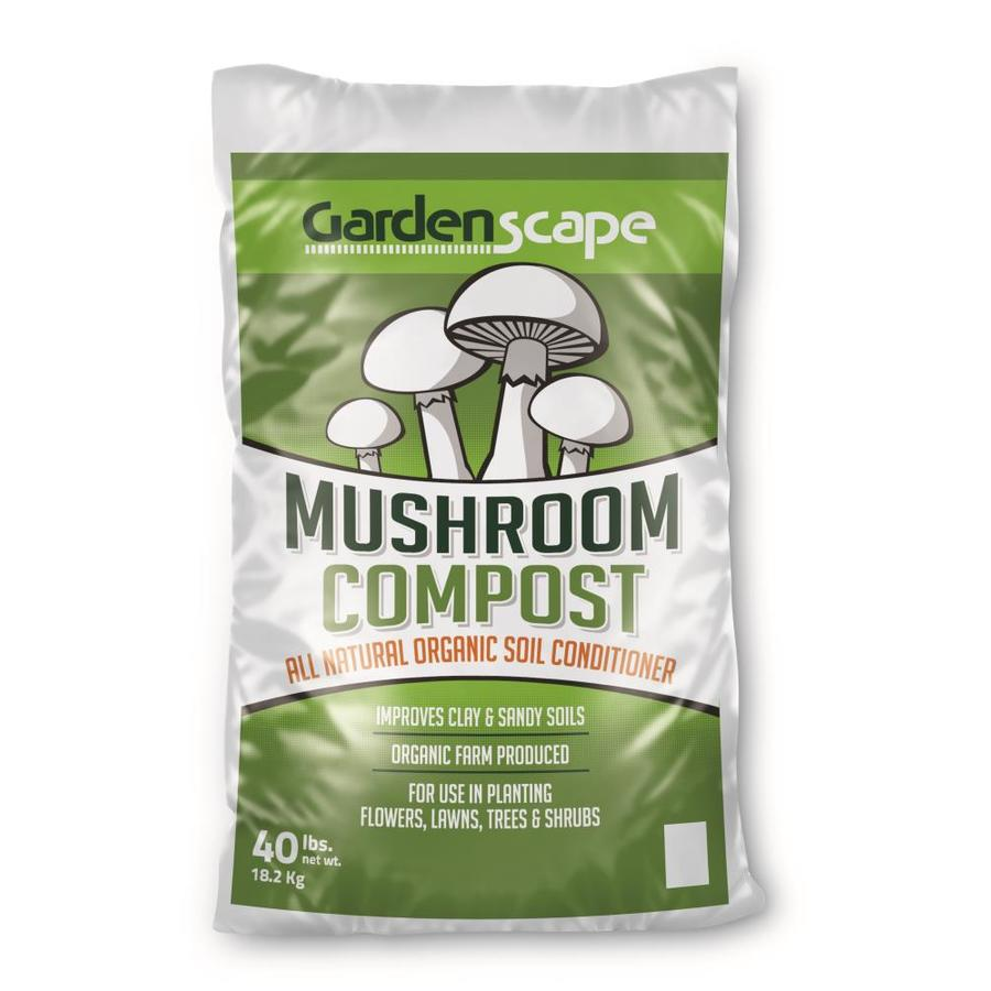 Gardenscape 40-lb Soil Conditioner Mushroom Compost at Lowes com