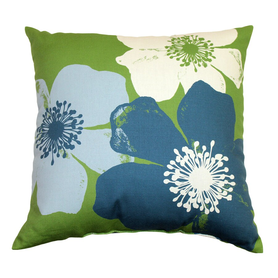 Garden Treasures Chapin Green UV-Protected Outdoor Accent Pillow
