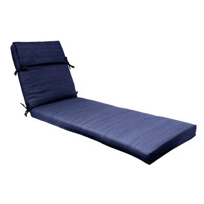 Sensational 1 Piece Navy Patio Chaise Lounge Chair Cushion Short Links Chair Design For Home Short Linksinfo