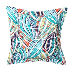 Graphic Print Multi Square Throw Pillow