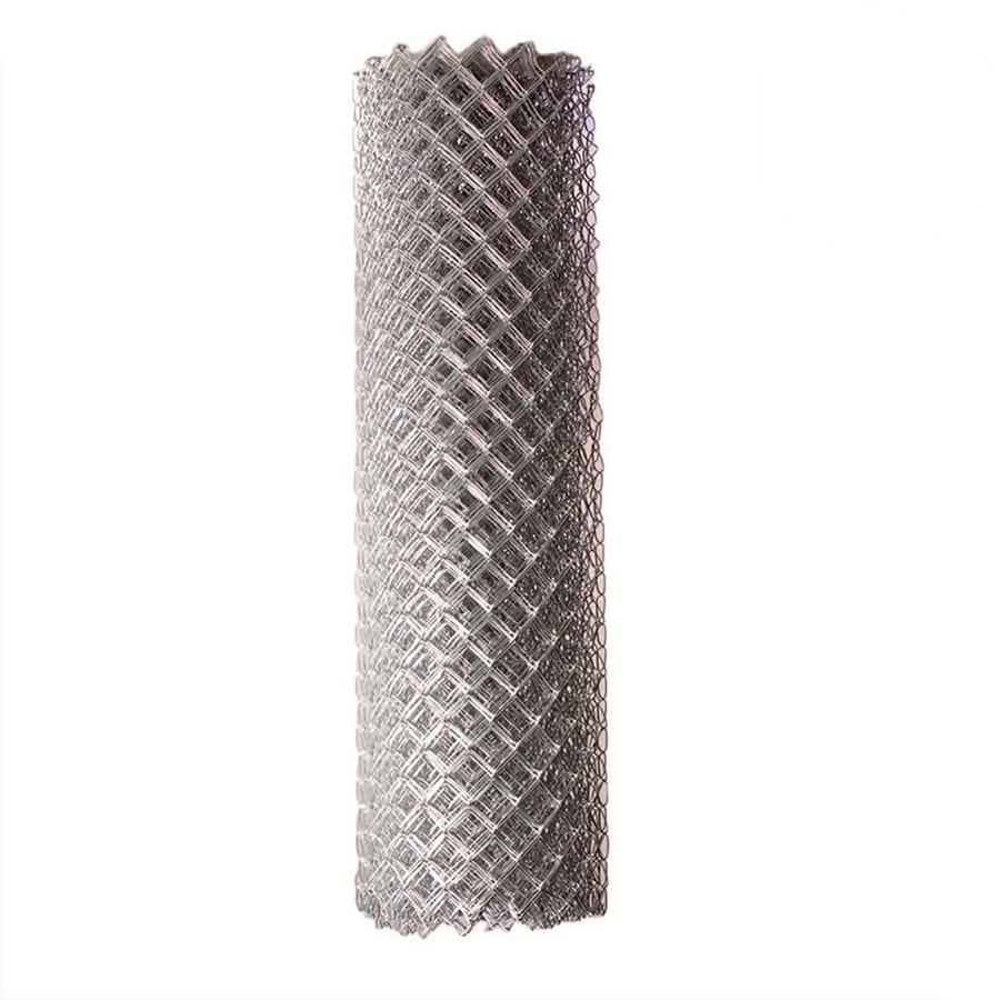 Shop (Actual: 50-ft x 4-ft) Galvanized Steel Chain-link Fence Fabric ...