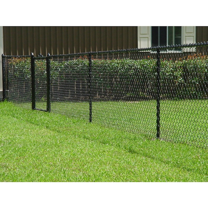 Actual 50 Ft X 4 Vinyl Coated Steel Chain Link Fence Fabric