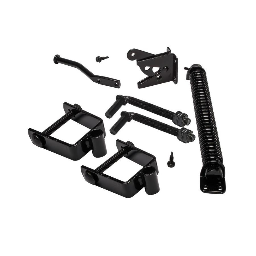 Shop steel fence gate hardware kit at lowes