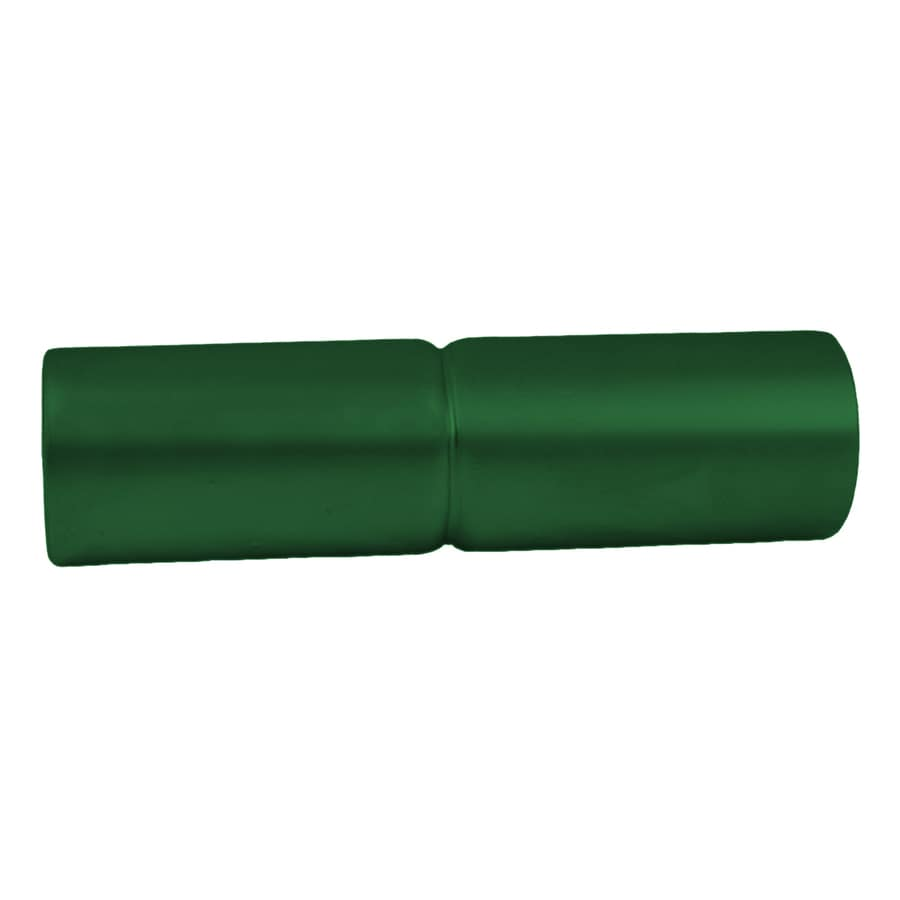 Green Steel Post Sleeve (Fits Common Post Measurement: 1.62-in; Actual: 1.62-in x 6-in x 1.62-in)