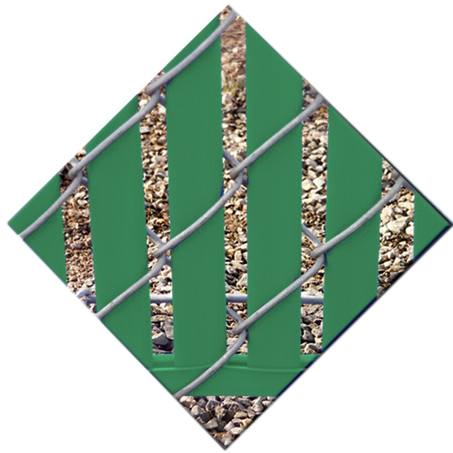 78-Pack Green Chain-Link Fence Privacy Slats (Fits Common Fence Height: 8-ft; Actual: 0.1-ft x 7.71-ft)