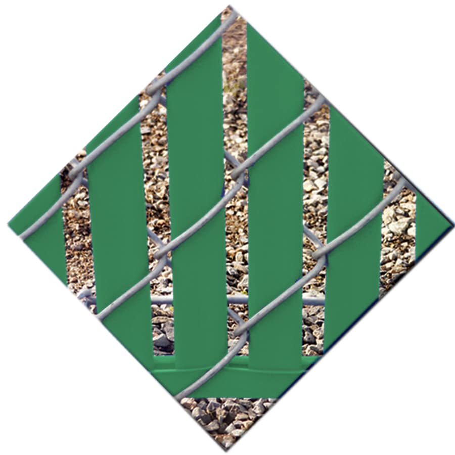 82-Pack Green Chain-Link Fence Privacy Slats (Fits Common Fence Height: 7-ft; Actual: 0.09-ft x 6.71-ft)