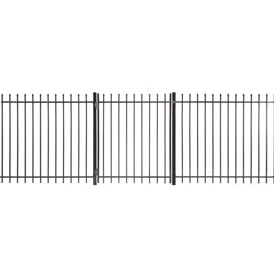Lafayette Powder Coated Steel Decorative Fence Gate (Common: 5-ft x 4-ft; Actual: 4.83-ft x 3.66-ft)