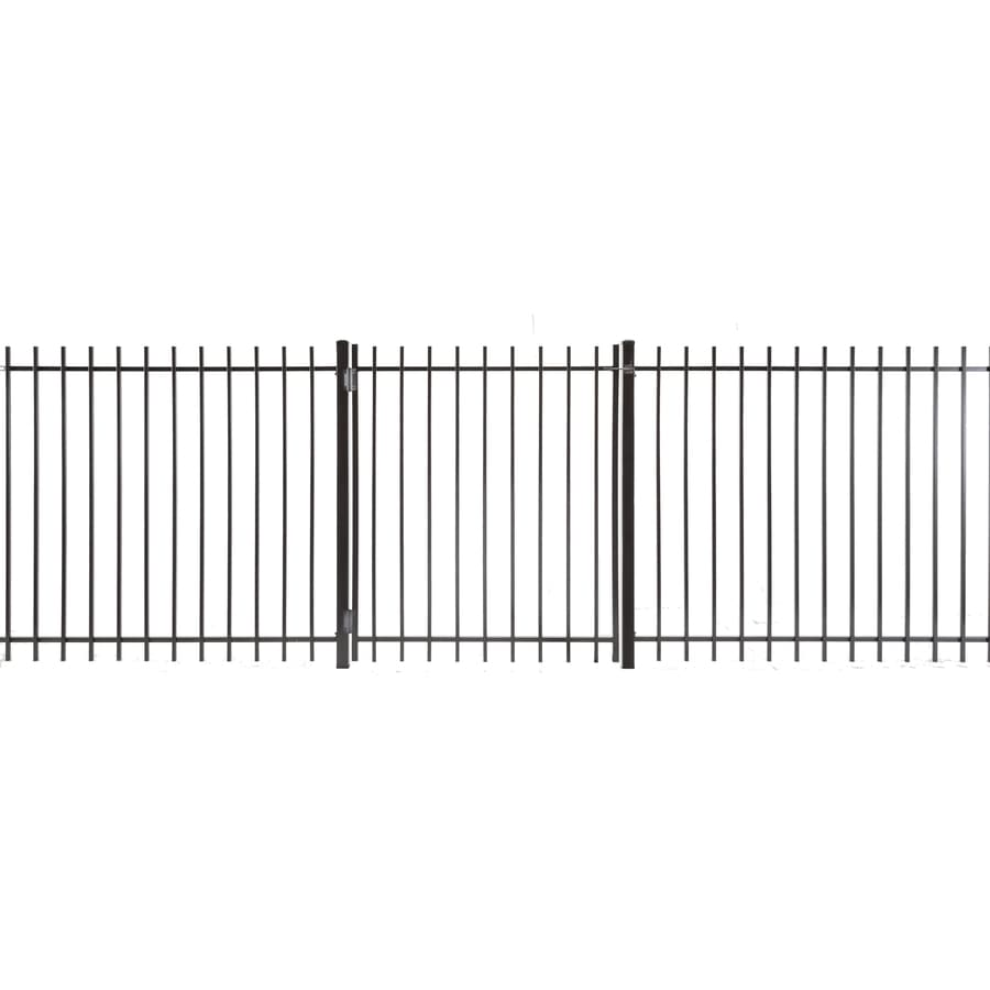 Kent Powder Coated Steel Decorative Fence Gate (Common: 5-ft x 4-ft; Actual: 4.83-ft x 3.66-ft)