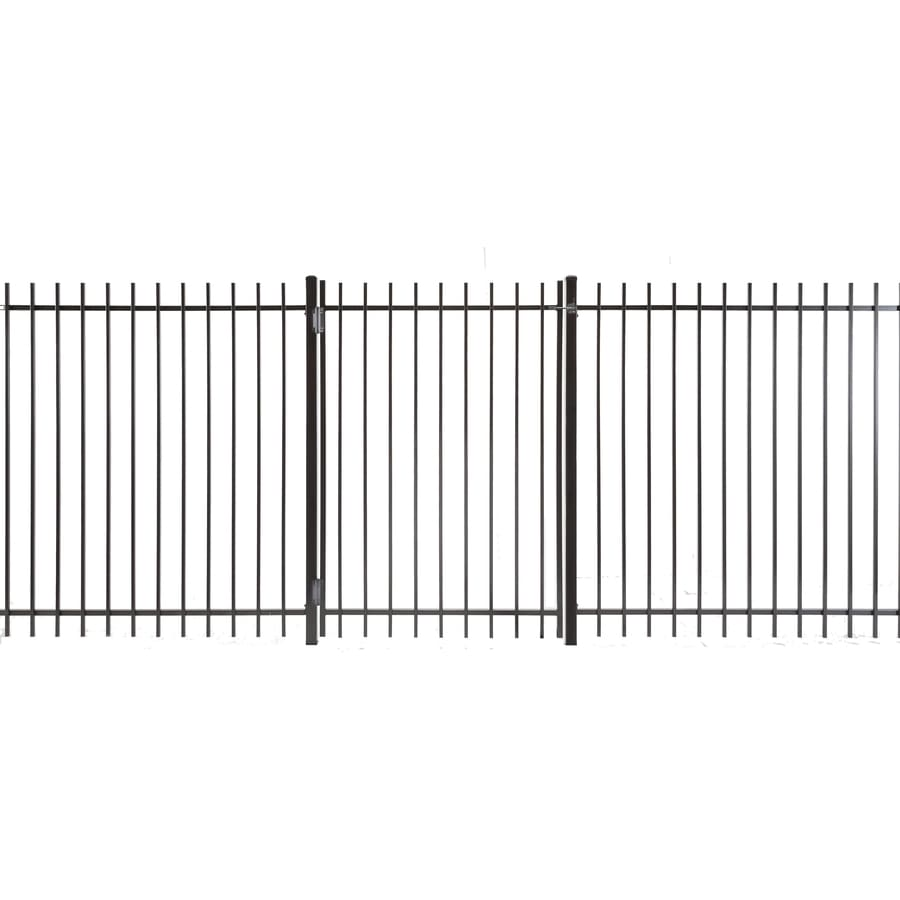 (Common: 5-ft x 3-ft; Actual: 4.83-ft x 2.66-ft) Kent Powder Coated Steel Decorative Fence Gate