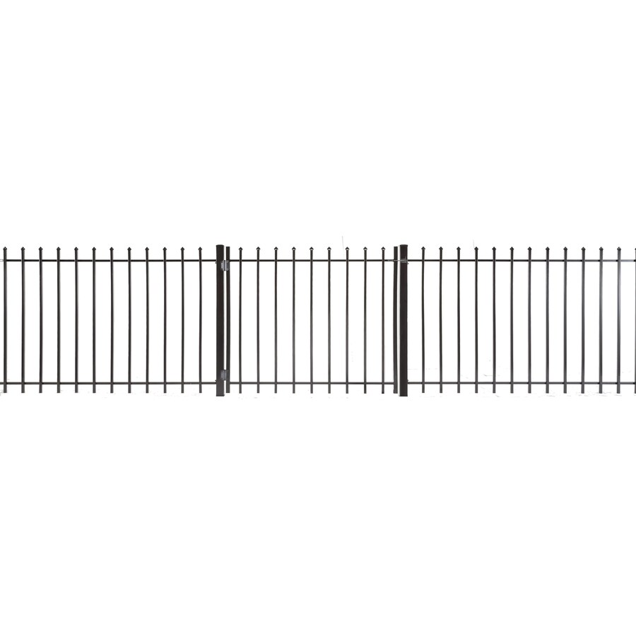 Lafayette Powder Coated Steel Decorative Fence Gate (Common: 3-ft x 3.5-ft; Actual: 2.83-ft x 3.16-ft)