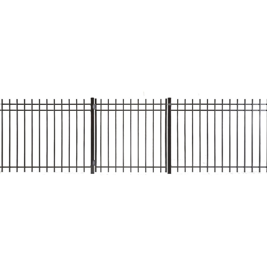 (Common: 3-ft x 3-ft; Actual: 2.83-ft x 2.66-ft) Kent Powder Coated Steel Decorative Fence Gate