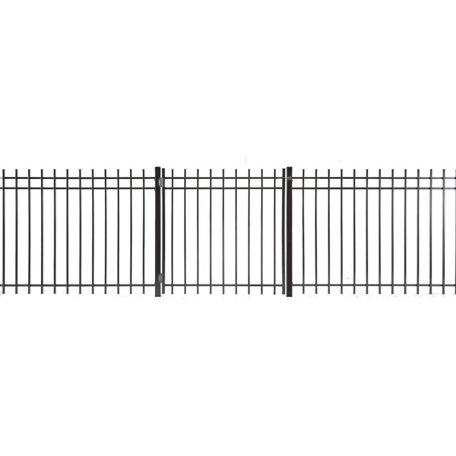 Kent Powder Coated Steel Decorative Fence Gate (Common: 3-ft x 3.5-ft; Actual: 2.83-ft x 3.16-ft)