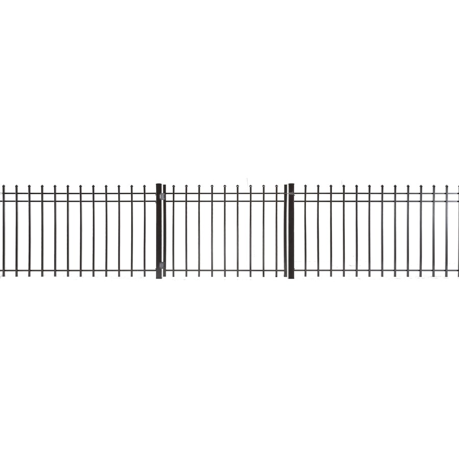 (Common: 3-ft x 4-ft; Actual: 2.83-ft x 3.66-ft) Lafayette Powder Coated Steel Decorative Fence Gate
