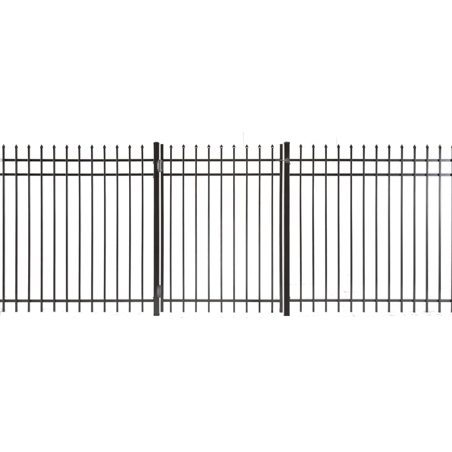 Lafayette Powder Coated Steel Decorative Fence Gate (Common: 5-ft x 3.5-ft; Actual: 4.83-ft x 3.16-ft)