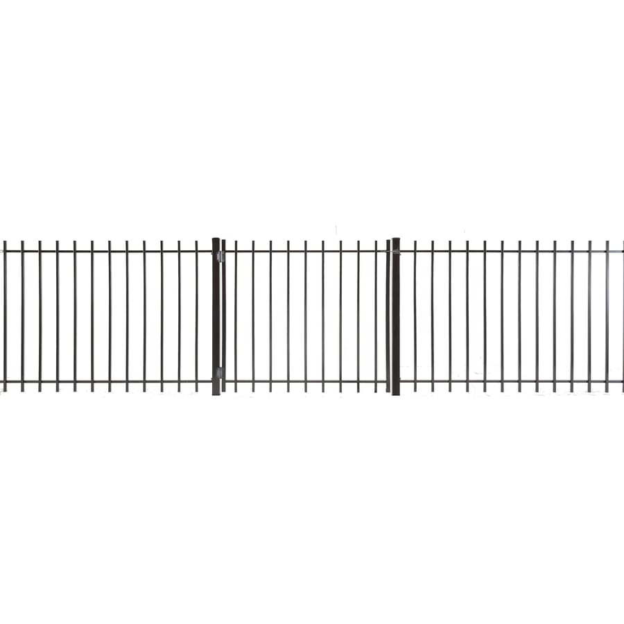 Kent Powder Coated Steel Decorative Fence Gate (Common: 3-ft x 4-ft; Actual: 2.83-ft x 3.66-ft)