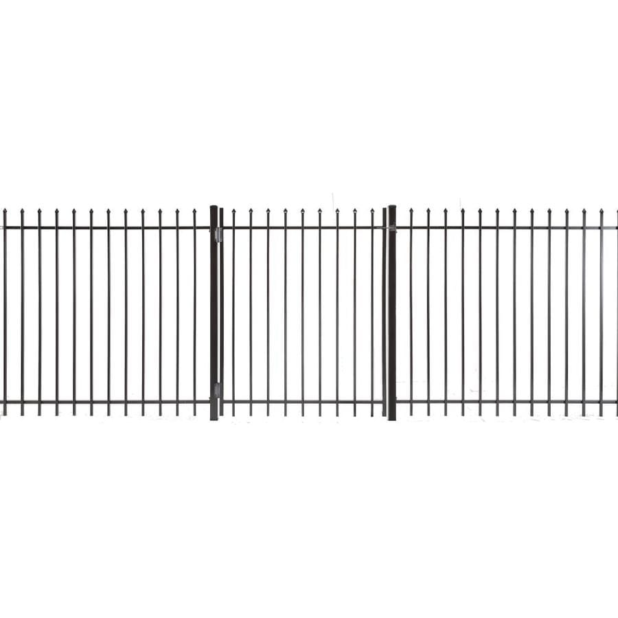Lafayette Powder Coated Steel Decorative Fence Gate (Common: 4-ft x 3-ft; Actual: 3.83-ft x 2.66-ft)