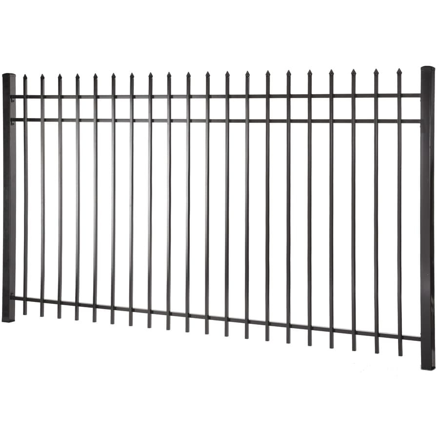 decorative metal fence panels screen actual 496ft 797ft lafayette black steel decorative metal shop