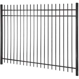 Steel Decorative Metal Fence Fence Panels At Lowes Com