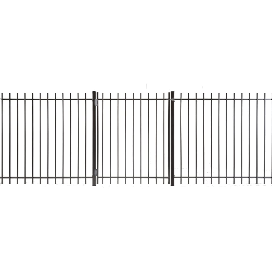 (Common: 4-ft x 3-ft; Actual: 3.83-ft x 2.66-ft) Kent Powder Coated Steel Decorative Fence Gate