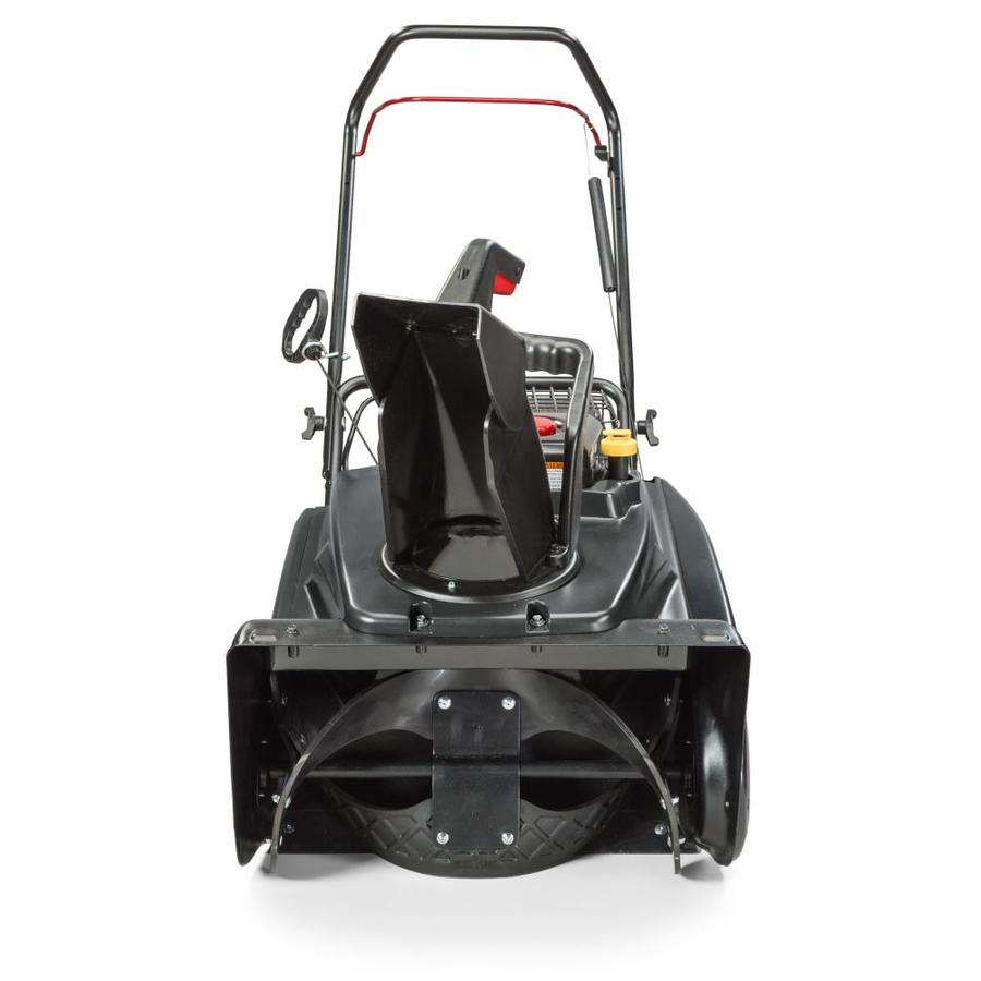 Briggs & Stratton 1022E 22-in Single-stage Push-button Electric Start Gas Snow Blower