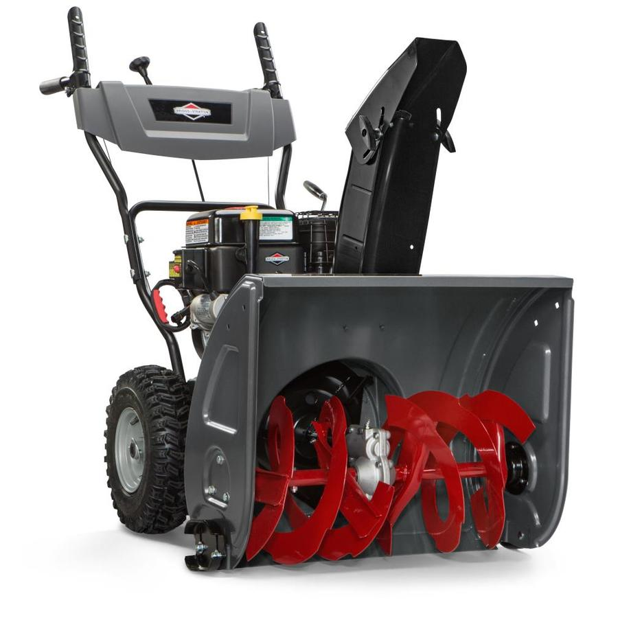 Briggs & Stratton 1024LD 24-in Two-stage Gas Snow Blower Self-propelled