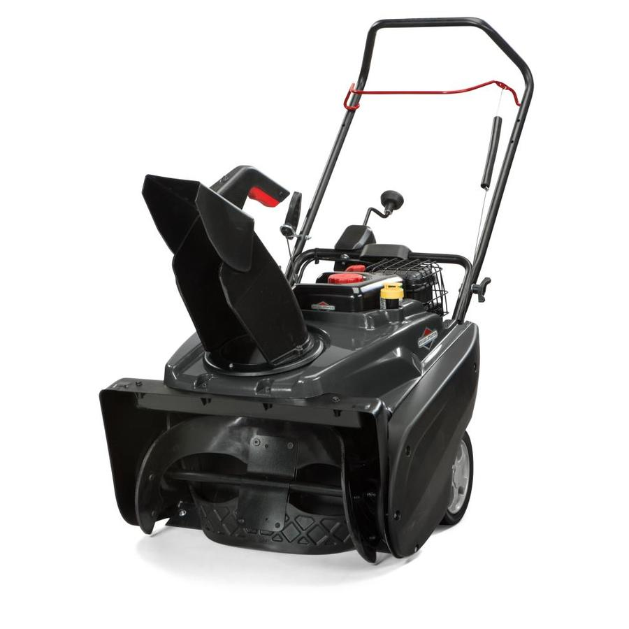 Briggs & Stratton 1022ER 22-in Single-stage Push-button Electric Start Gas Snow Blower