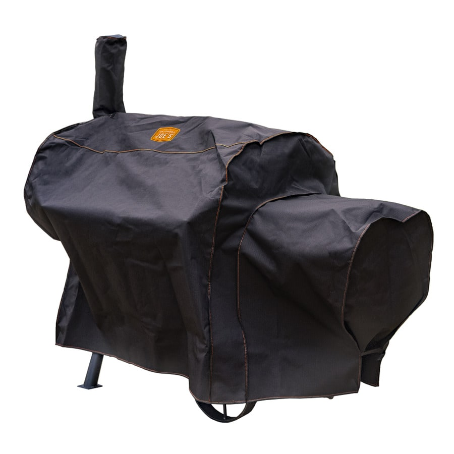 Oklahoma Joe's Longhorn 66.5-in x 38-in Polyester Horizontal Smoker Cover