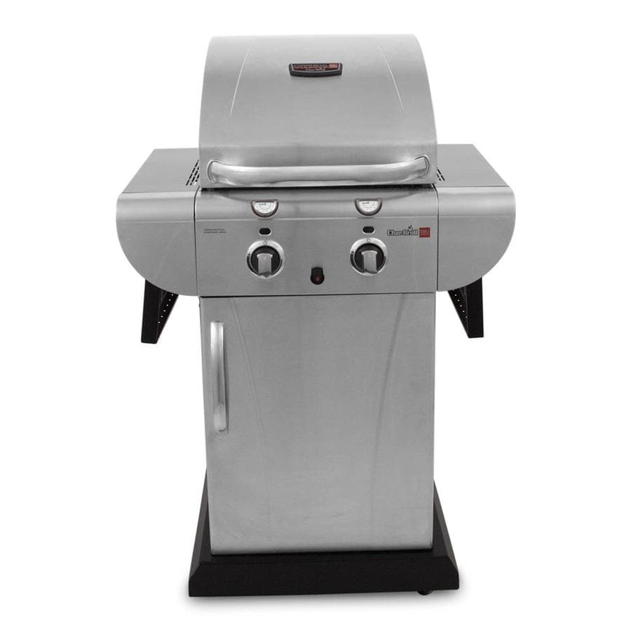 Char-Broil TRU-Infrared Commercial 2-Burner (21000 BTU) Liquid Propane Gas Grill