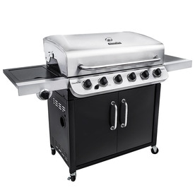Char Broil Performance Black And Stainless Steel 6 Burner