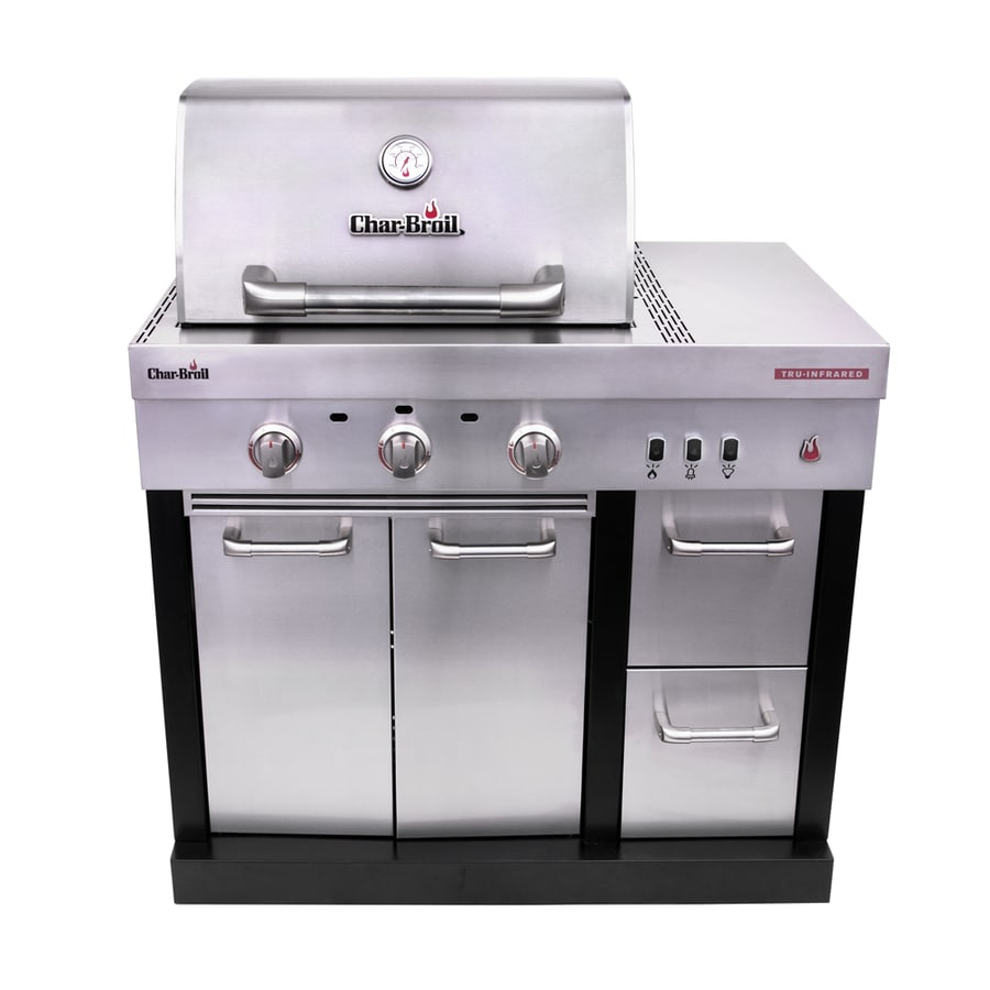 Lowes Outdoor Kitchens: Shop Char-Broil Modular Outdoor Kitchen 3-Burner Medallion