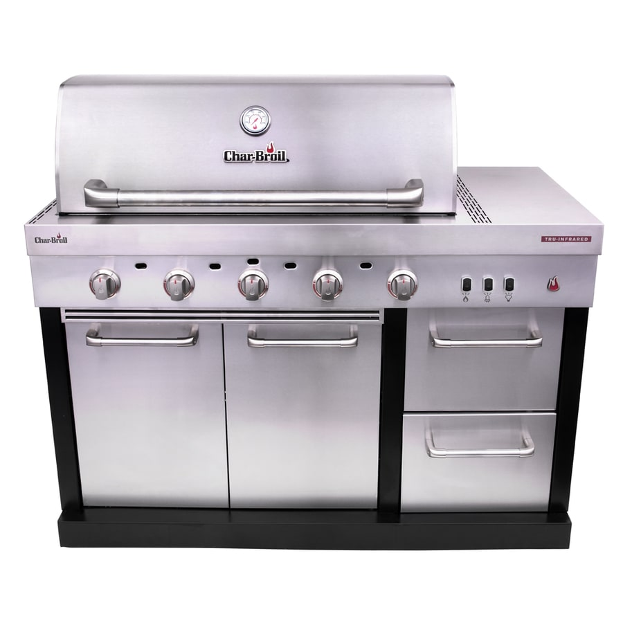 Char Broil Modular Outdoor Kitchen 5 Burner Medallion Gas Grill