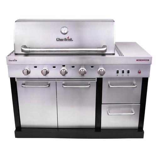 Char-Broil Modular Outdoor Kitchen 5-Burner Medallion Modular Gas Grill