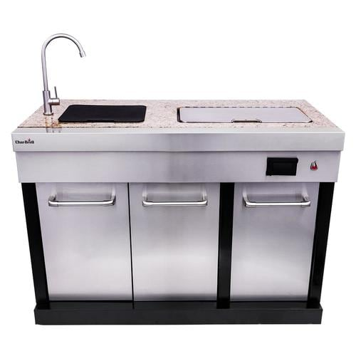 Char-Broil Modular Outdoor Kitchen Medallion Modular Sink ...