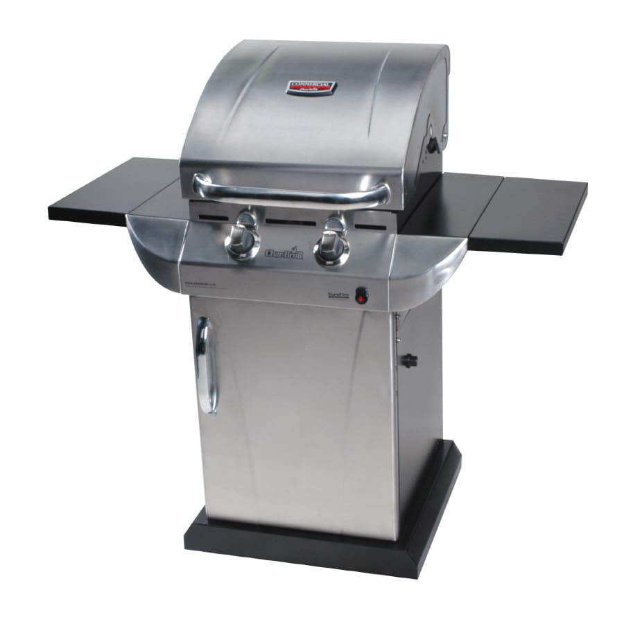 Char-Broil Commercial 2-Burner (20,000-BTU) Liquid Propane Gas Grill