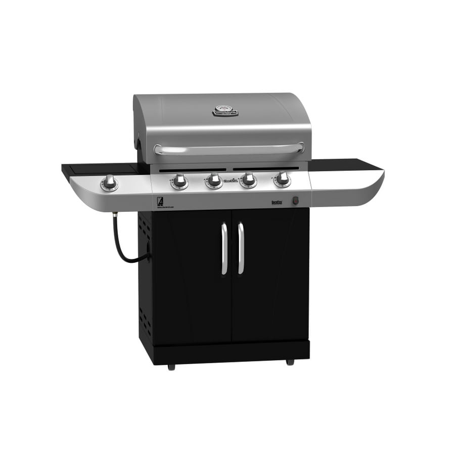 shop char broil commercial series 4 burner stainless steel gas grill at. Black Bedroom Furniture Sets. Home Design Ideas