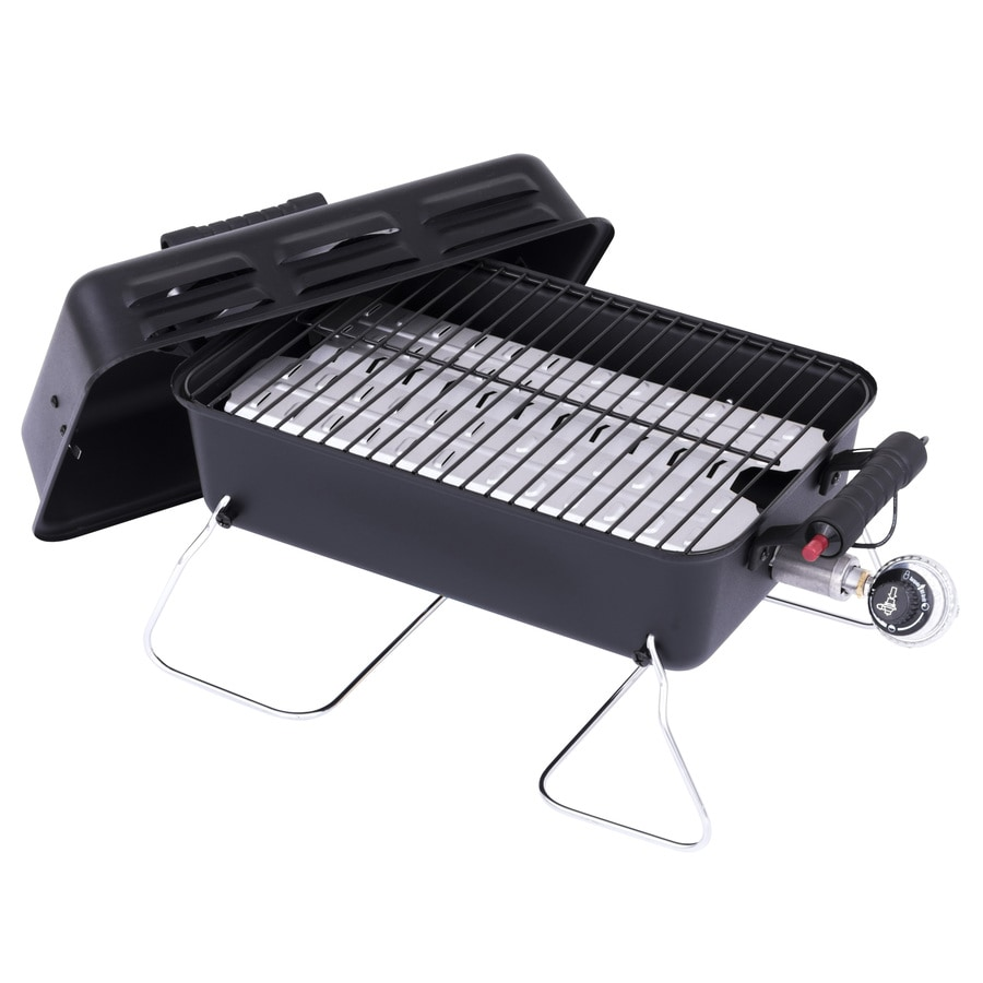 shop char broil 11000 btu 190 sq in portable gas grill at. Black Bedroom Furniture Sets. Home Design Ideas