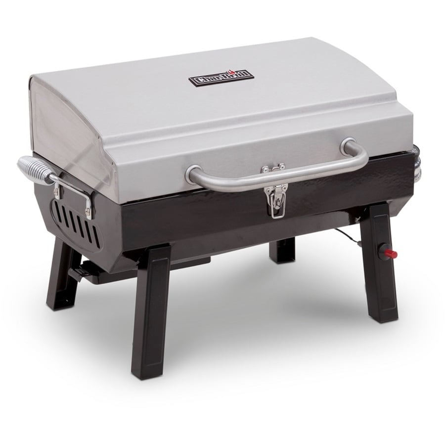 Char-Broil Stainless 10000-BTU 200-sq in Portable Gas Grill