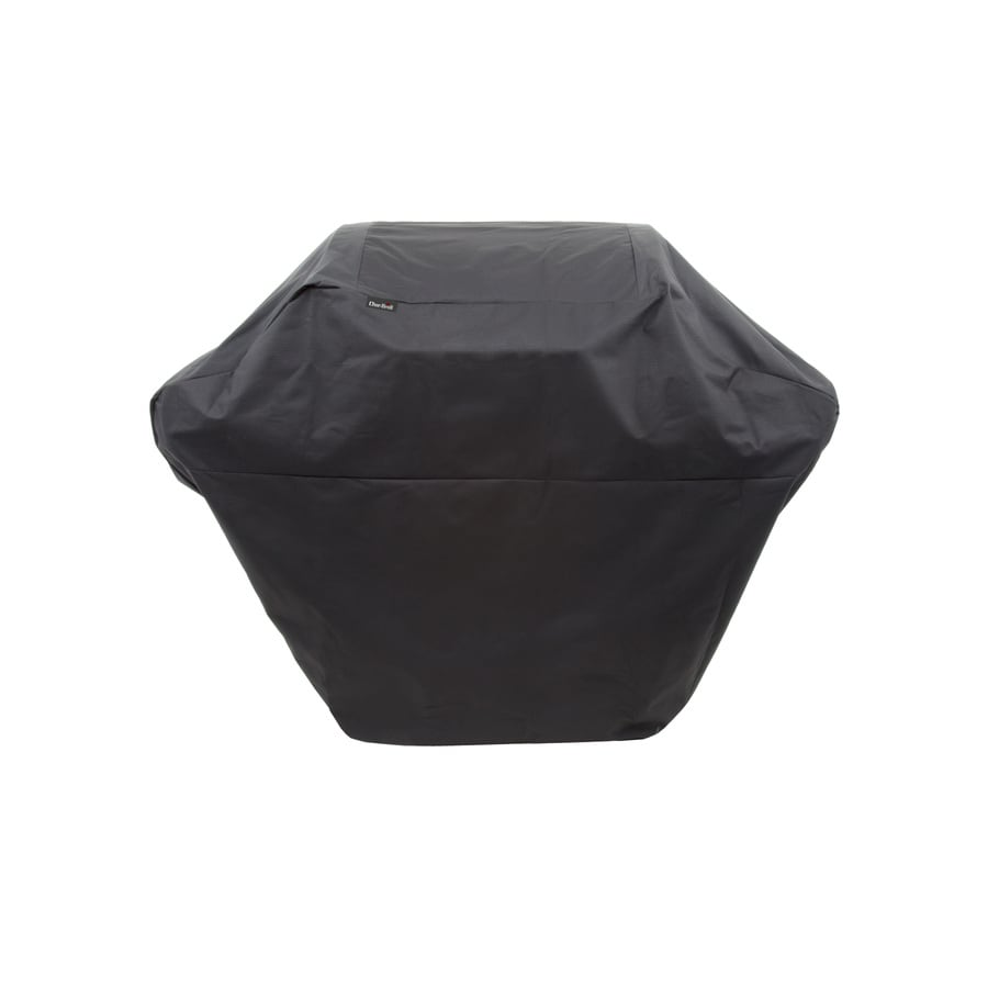Char Broil Universal 62 In Black Grill Cover At Lowes Com