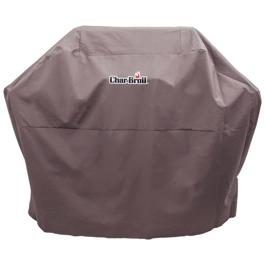 Char-Broil Performance 62-in x 44-in Tan Pvc Grill Cover Fits Models 606686, 748083