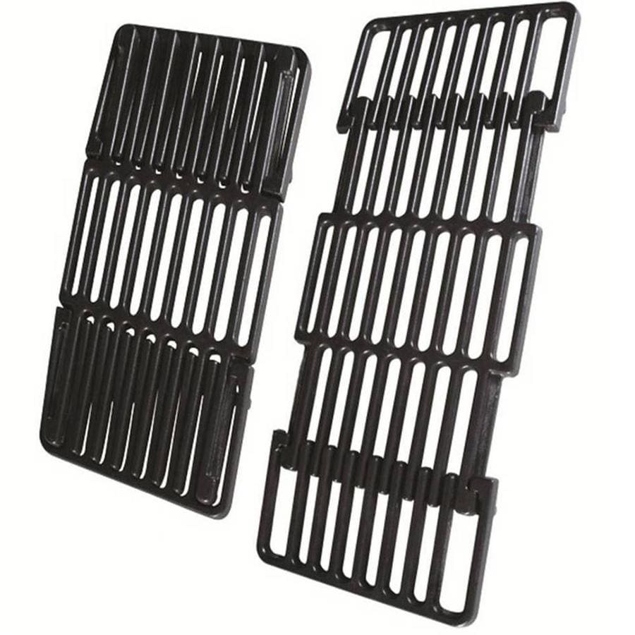 Char-Broil Adjustable Rectangle Porcelain-Coated Cast Iron Cooking Grate